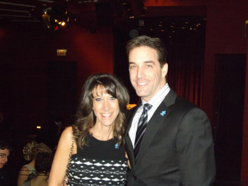 Board of Directors Vice Chair Laurie Chern and her husband Eric #autismspeaksCHI #EWTS #oscars