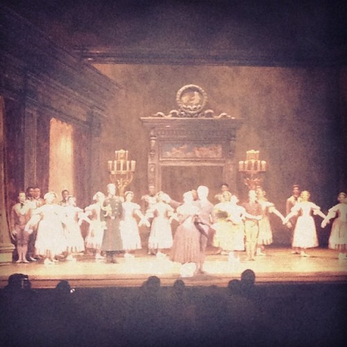 Saturday afternoon ballet with @adam_dadson! Fun time! #Onegin #Met #Ballet