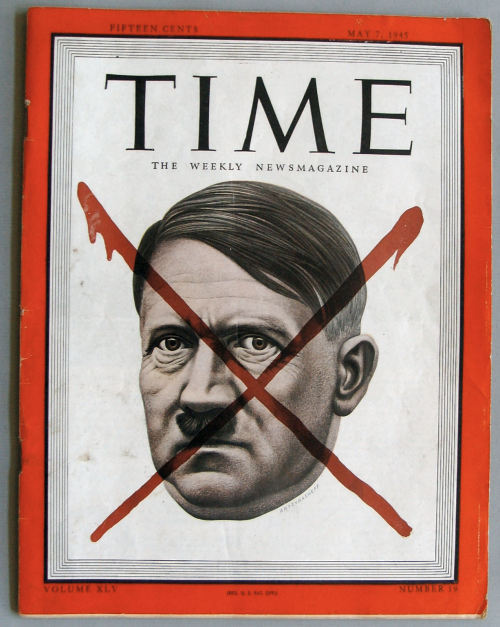 demons:  The VE cover for Time Magazine, 7 May 1945