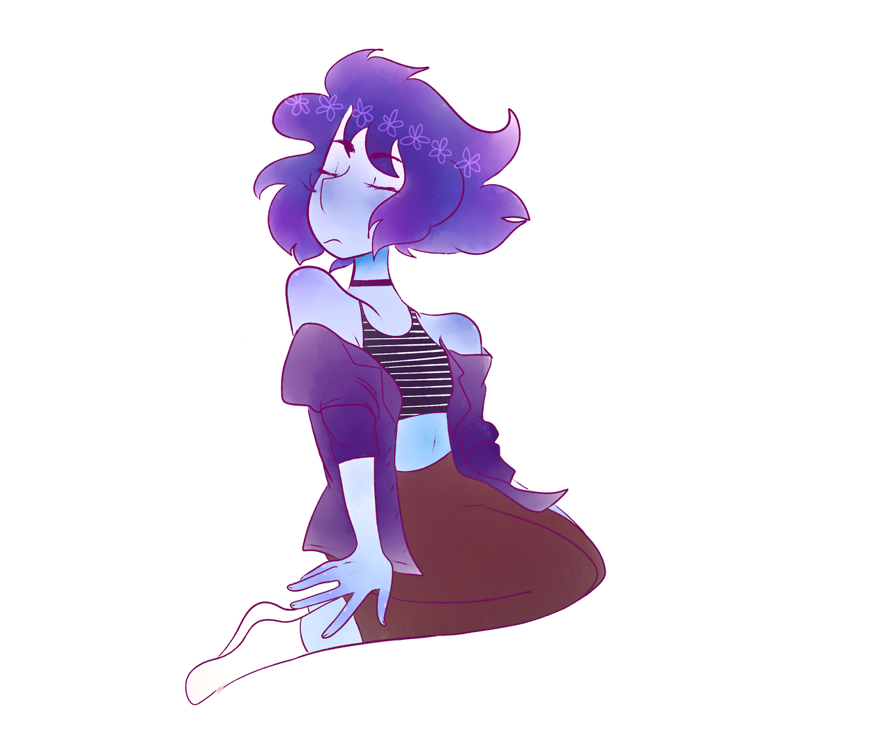 wow would u look at that i actually colored something Good for once also look a speedpaint :o