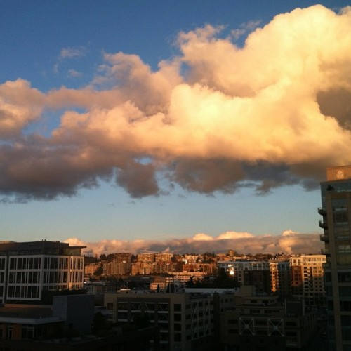Feb 7: pretty clouds (at Amazon - Varzea (SEA30))
