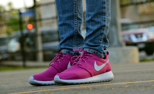 Nike Rave Pink Roshe Run on Flickr.On the GF's feet.. Nike Rave Pink Roshe Run