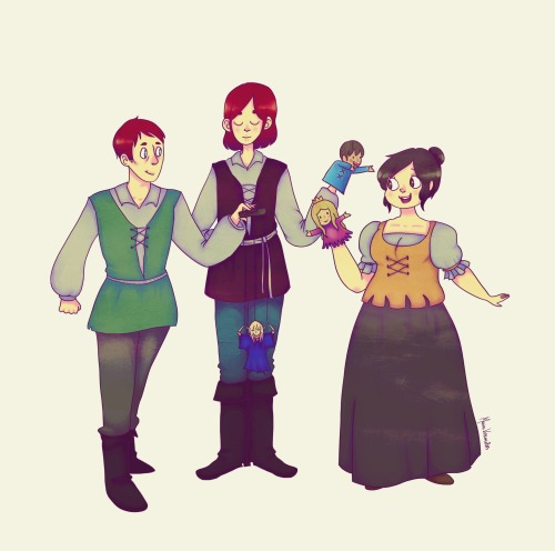 hieilovescookies:  My aunt's characters: Tomas, Aryan and Flora.For those who speak portuguese, her awesome blog: http://castelodasaguias.blogspot.com.br/