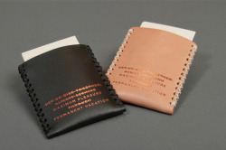 free-man:  Draught Dry Goods Embossed Card Carry
