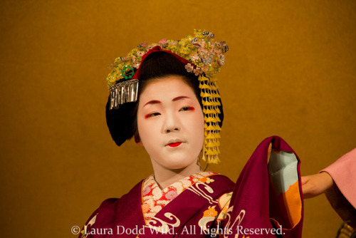 Gion Corner 8: Geisha 3. by Lors37 on Flickr.maiko Eriha