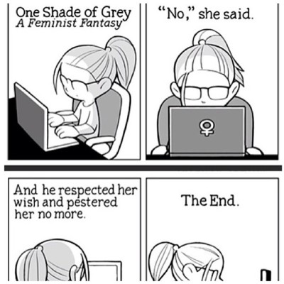 One Shade of Grey - A Feminist Fantasy (comic)