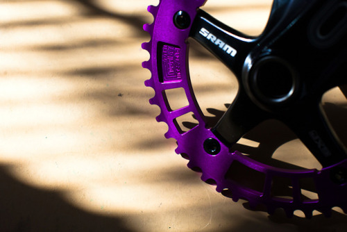 Sram Omnium with 44RN Purple Chainring