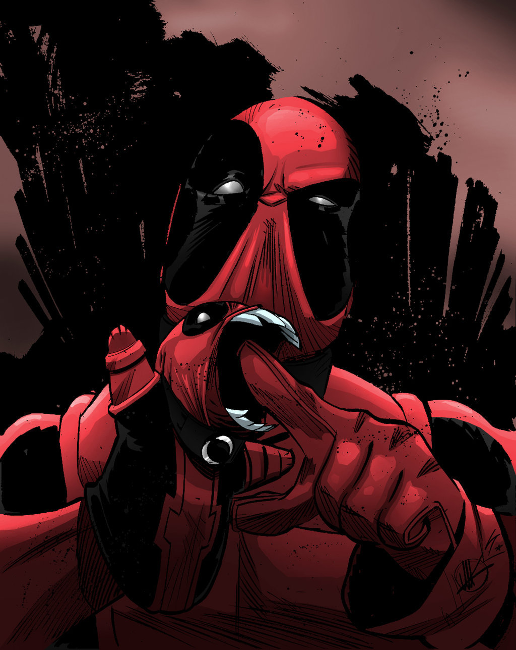 Deadpool Lines by Matteo Scalera Colors by Lewis Tillett