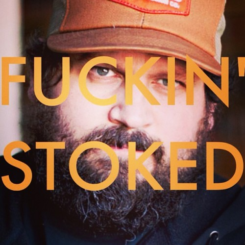 Get to see @draplin speak in less than two days. Color me excited. Thanks @tavani !