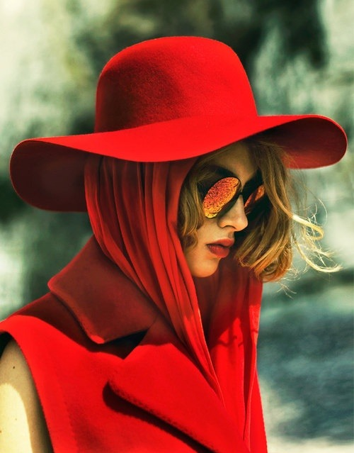 maybelline:  Red on red on red.