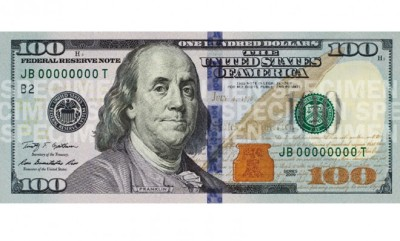 The new $100 bill.