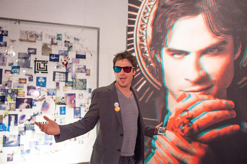 3D Ian Somerhalder? Now, that's technology we can get on board with!