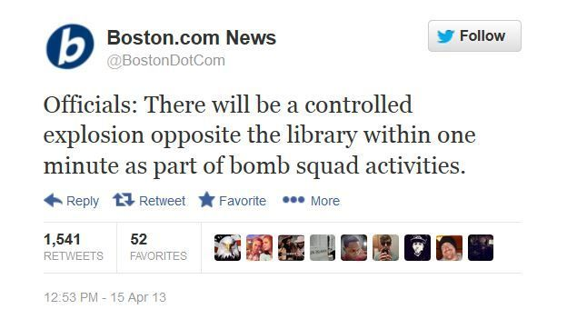 "anoncentral:  Say WHAT?! The Boston Globe reported 2 hours beforehand that a ""controlled explosion"" would go off in the exact location where 19 year old pot-smoker Tsarnaev is supposed to have detonated the first bomb… things that make you go 'HMMM!…'Although the gruesome sight of mangled body parts is an everyday reality in countries occupied or bombed by the U.S. military, the 'double-tap' bombing in downtown Boston on 'Tax Day', Monday 15th April, was the first terror attack on U.S. soil in 12 years. Anyone with a couple of neurons firing will have noticed by now that the official story is riddled with inconsistencies. In fact, it makes absolutely no sense at all. In fact, there is no 'official story'; U.S. authorities have clearly just been making stuff up as they go along, hoping that the emotional trauma of a terrorist attack will suffice to 'win the hearts and minds of the American people'. So far it appears to be working, but when we discussed this on a recent SOTT Talk Radio show, we had a few callers who were completely exasperated with the contradictory, incomplete, and simply unbelievable accounts of last week's events in Boston.   It was a strange week in more ways than one. It was the 20th anniversary of the Waco Massacre. It was the 18th anniversary of the Oklahoma City Bombing. It was the 14th anniversary of the Columbine School Massacre. And the bombings happened on the 238th anniversary of the opening shots in the American Revolutionary War. Coincidences? Or by design?"