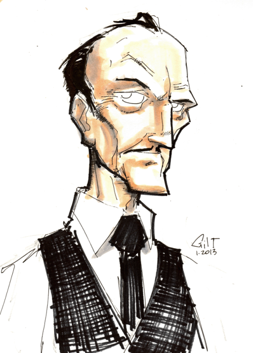 DSC 012813 - Alfred Pennyworth by *GilTriana