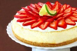 Strawberry Margarita Cheesecake (Recipe)