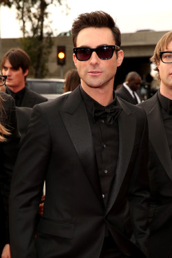 Adam Levine || 55th Annual GRAMMY Awards at the Staples Center in LA on February 10, 2013  he's nearly perfect