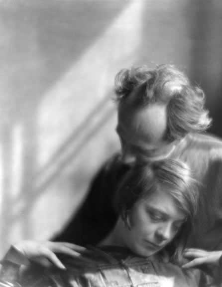 Edward Weston and Margrethe Mather 1922, -Imogen Cunningham