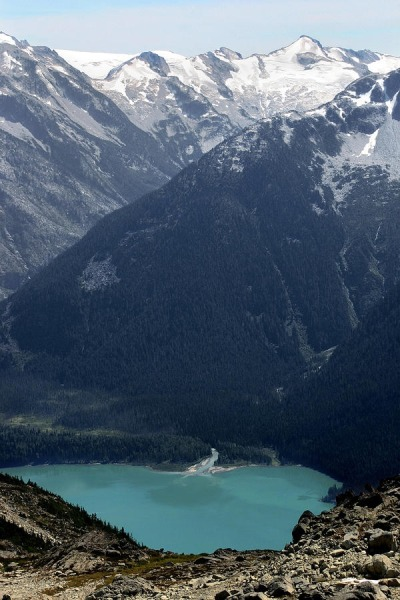 unwrittennature:  Emerald Cheakamus Lake - Whistler, Canada by: Pierre Leclerc