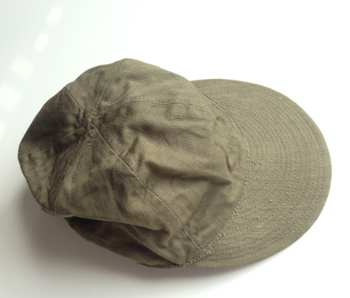 Type A-3 Mechanics Cap, US Army Air Corps, circa 1939. Wanna cop? http://bit.ly/X1xZ7s