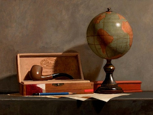 Todd Casey Globe with Pipe 2012