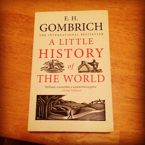 Wholeheartedly recommend this book. History of the world aimed at children written in 1936, but fantastic read for anyone, only recently published in English.