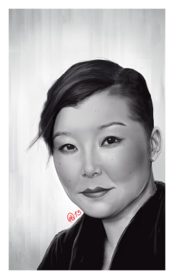 Portrait of my dear friend Melinda. Done in photoshop
