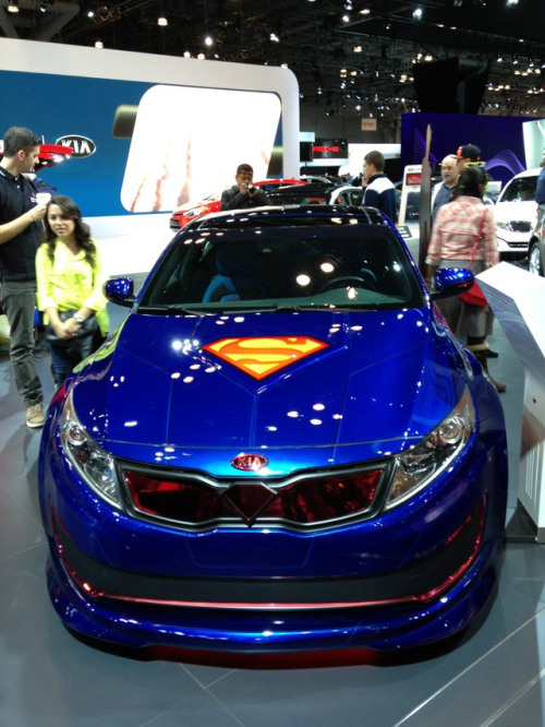 laughingsquid:  DC Comics and Kia Team Up to Create Superhero-Themed Cars