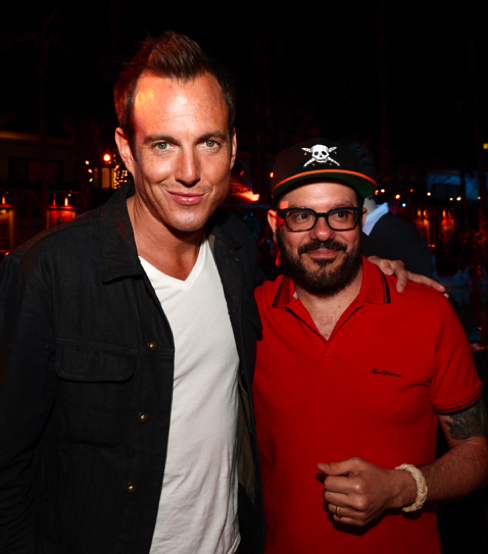 fuckyeahdavidcross:  David Cross and Will Arnett at the Arrested Development season 4 premiere. April 29, 2013.