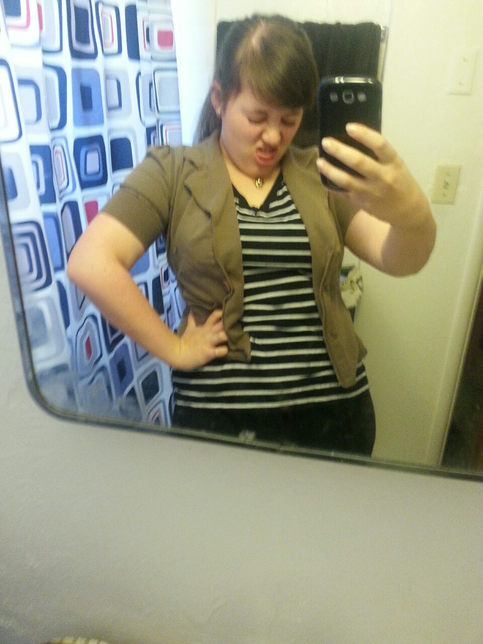 I went to the fair today. This is what I wore.