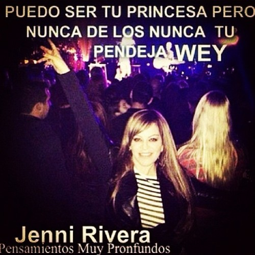 "La Meraa NETA😱 #jennivive #jennirivera "" JAMAS TU PENDEJA WEY"" only my DIVA would say that she's the BEST."