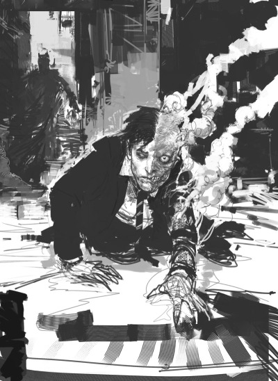imagemdma:  The Dark Knight concept art