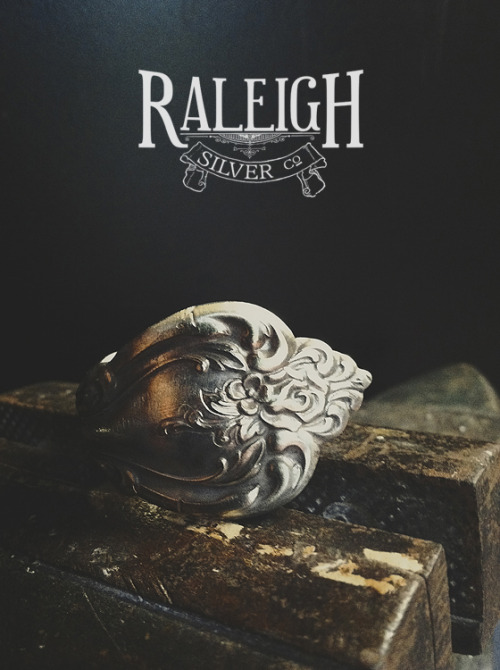 Raleigh Silver Company / Custom Silver Jewelry Raleigh, NCApril 2013 Raleigh, NC Commercial PhotographyPhotographer: Shane Deruise So this is happening, my new venture… I have always wanted to smith metal. You can check out the facebook here: http://facebook.com/raleighsilvercompany You can also follow me on instagram (raleighsilverco) for bts, and happenings. Website launching soon.