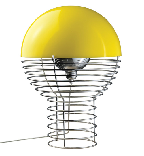 Finds: yellow wire lamp http://bit.ly/17YehCO