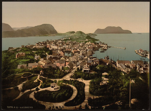 [General view, Ålesund, Norway] (LOC) by The Library of Congress on Flickr.