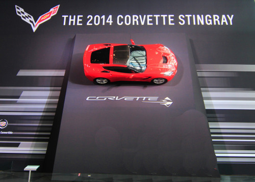 Poster girl Starring: '14 Chevrolet Corvette Stingray (by jeeprmedic)