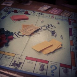 First night at camp #monopoly