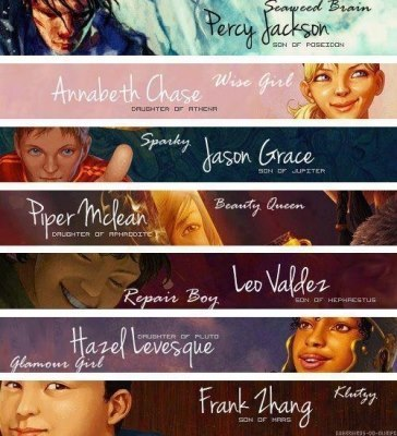 "sometimes-myself:  Seven HEROES!!  ""Seven Half-Bloods shall answer the call, To storm or fire the world must fall, An oath to keep with a final breath, And foes bear arms to the Doors of Death."" Oh. My. God. AWESOME <3"