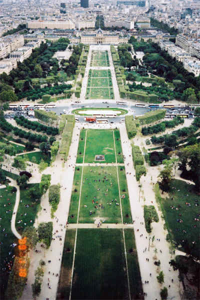 excert:  View from Eiffel Tower