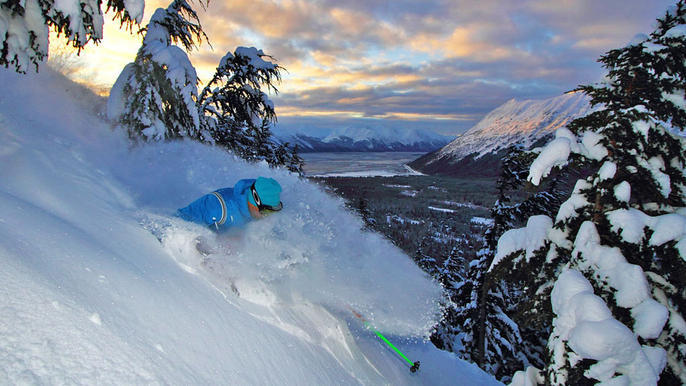 Where are the snowiest ski resorts? Click the photo to find out!