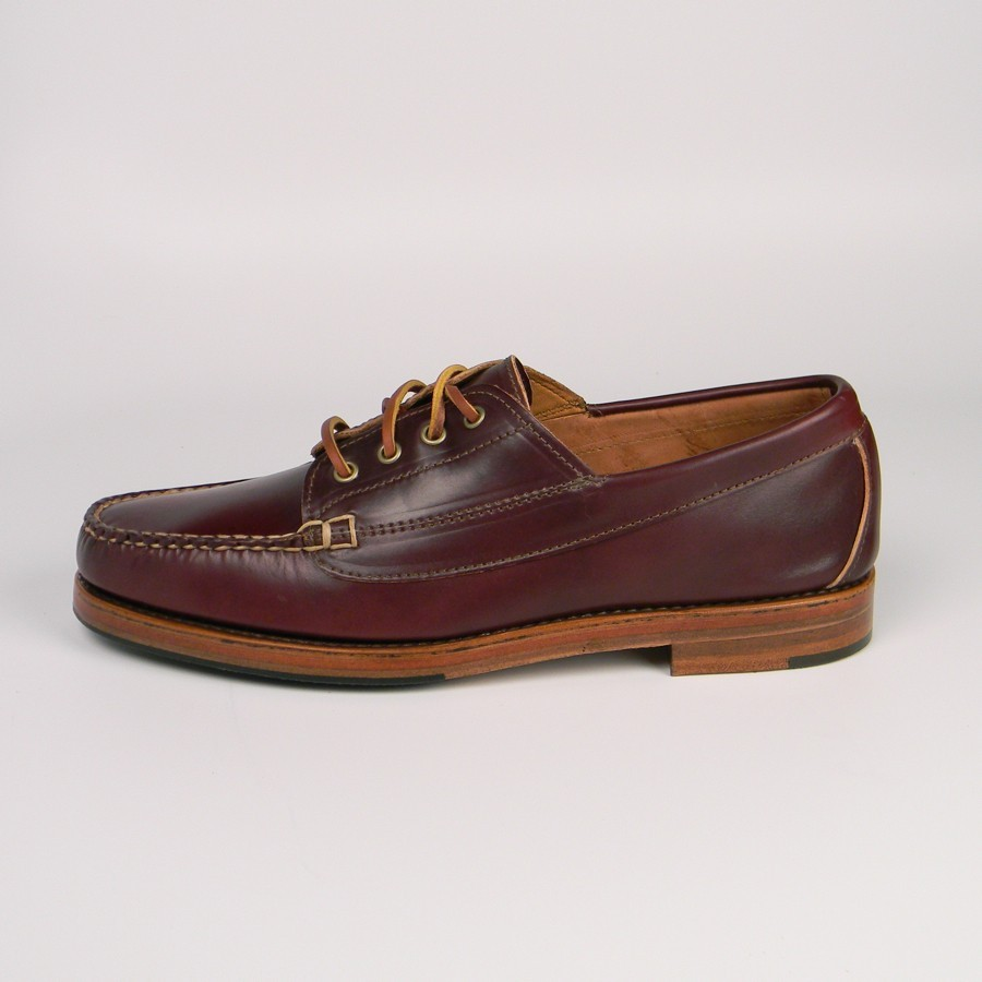 Ranger moccasin in #8 shell cordovan at Rancourt & Co.