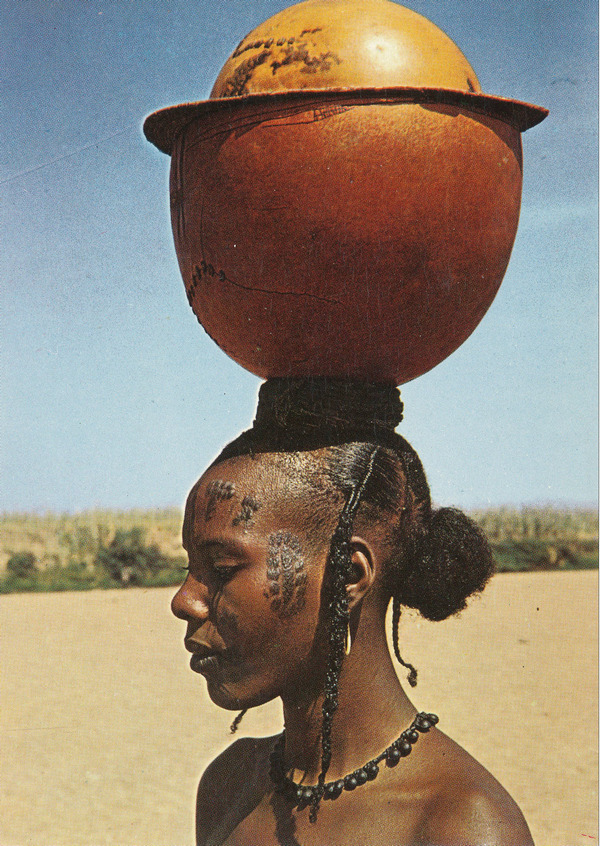 dynamicafrica:  Chadian woman.