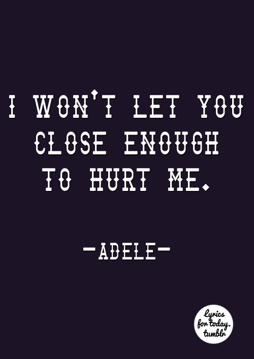 Turning Tables da Adele, para: @lostparadis-e   uhuuuul <3