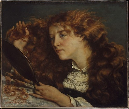 Jo, La Belle Irlandaise by Courbet (1856-66)