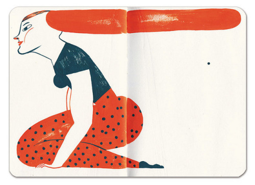 somethingsforyoutolookat:  Sketchbook by malota on Flickr.