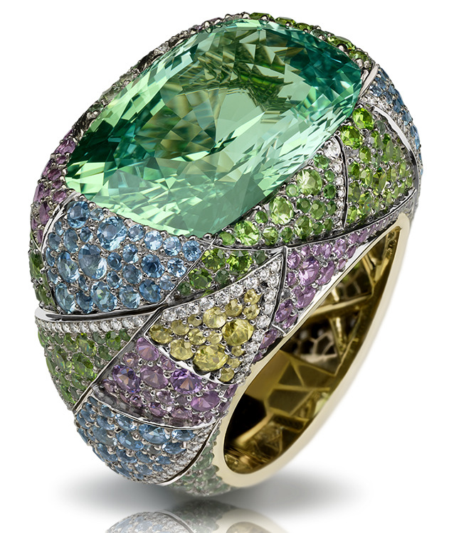 Kaleidoscope Ring - Faberge