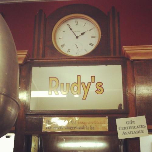 It's nice to be important but more important to be nice. @rudysbakery