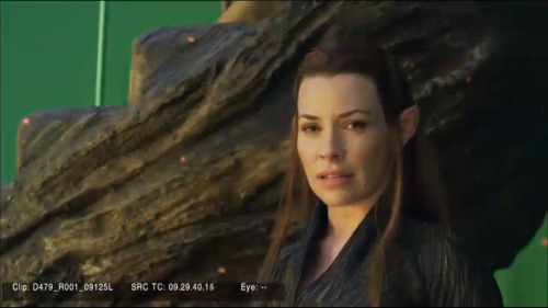 reneism:  Evangeline Lilly as Tauriel.