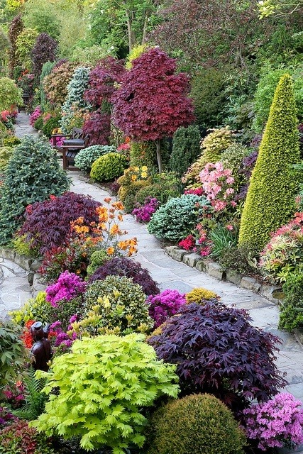 flowersgardenlove:  Beautiful combinatio Flowers Garden Love