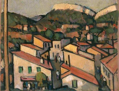 John Duncan Fergusson - Cassis from the West (1913)