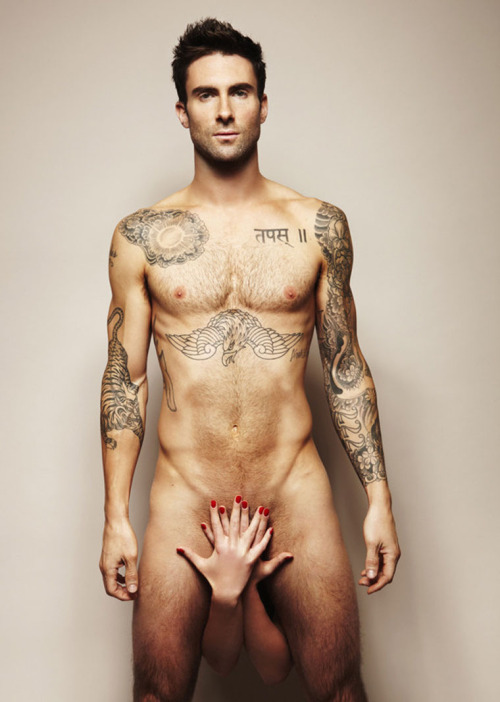captainjesse:  Adam Levine, for your viewing pleasure